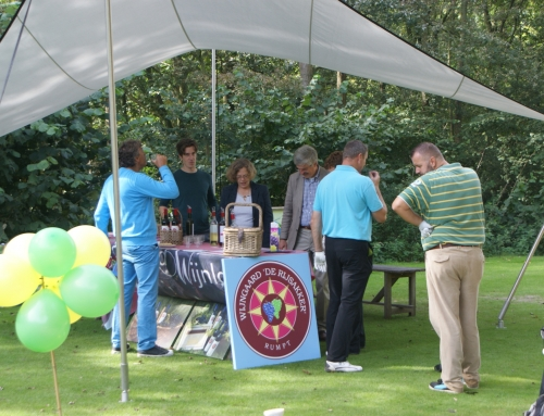 Wine-in-one op hole 18 Golfcentrum De Batouwe